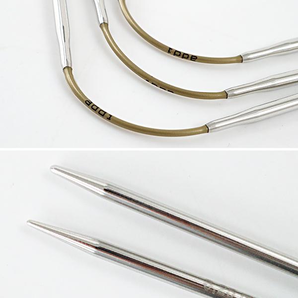 【編み物道具最大20%オフ】編み針 『addiCraSyTrio SHORT (アディクレイジートリオ・ショート) 針サイズ5.0mm』 addi アディ