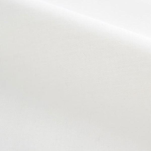 【数量5から】生地 『60Sコーマローン 1030-W1 (ホワイト)』