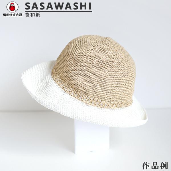 春夏毛糸 『SASAWASHI (笹和紙) 1番色』 DARUMA ダルマ 横田