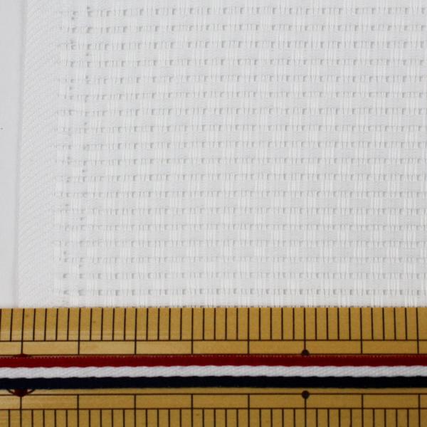 【数量1から】刺しゅう布 『マンセル ジャバクロス中目 9カウント 35目 ホワイト』 mansell マンセル【ユザワヤ限定商品】