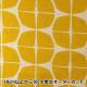 【数量5から】 生地 『綿麻キャンバス 幾何学模様 黄色 148-1805-A2』