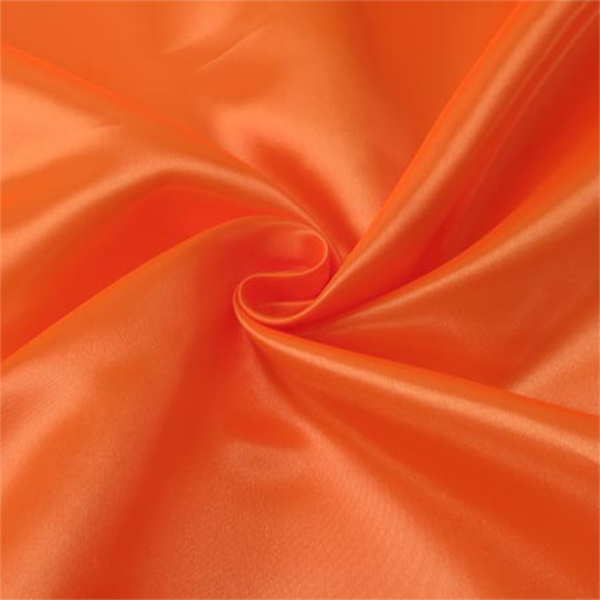 【数量5から】生地 『セラミカサテン 310-47 蛍光オレンジ』