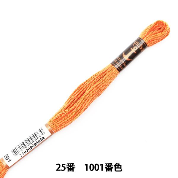 刺しゅう糸 『Anchor(アンカー) 25番刺繍糸 1001番色』