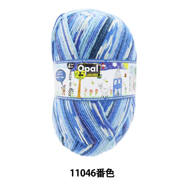 ソックヤーン 毛糸 『Opal 25 Jahre(オパール25周年)11046番色』 Opal オパール