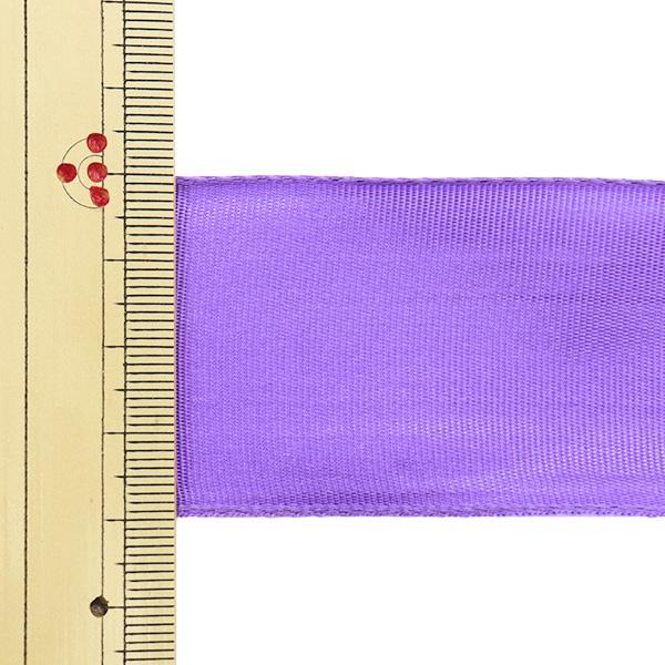 【数量5から】 リボン 『イクシーズ ワイヤー入り 1468 幅約4cm 38番色』 AOYAMARIBBON 青山リボン