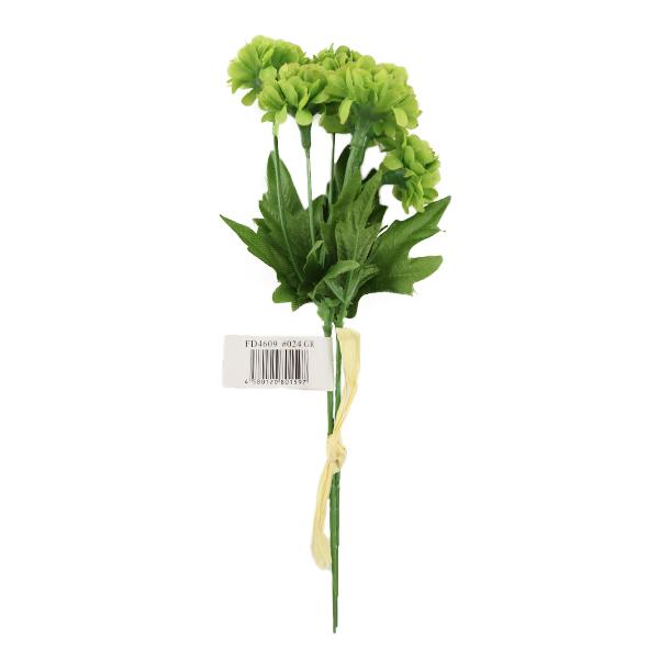 造花 シルクフラワー 『ベビーポンポンバンドル グリーン』