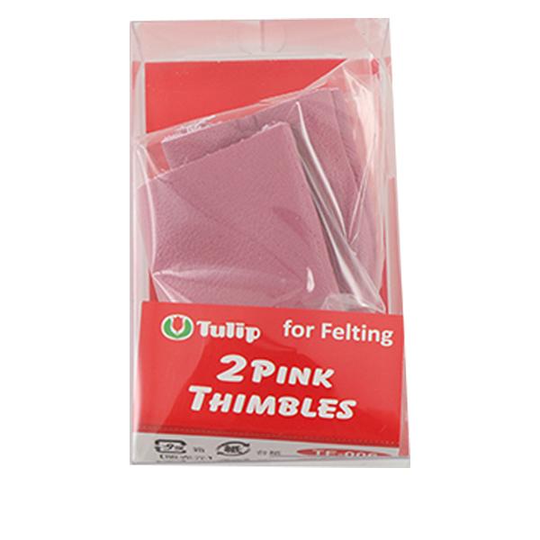 【羊毛フェルト最大20%オフ】シンブル 『2PINK THIMBLES(2ピンクシンブル』 Tulip チューリップ