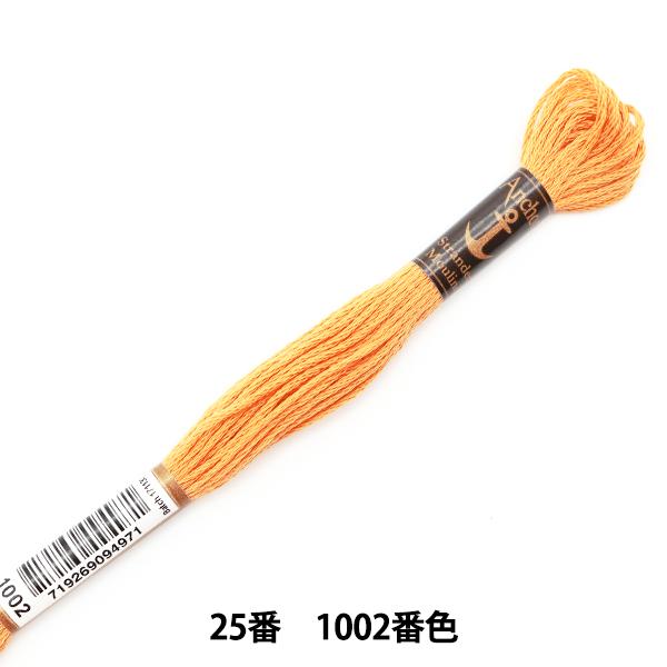 刺しゅう糸 『Anchor(アンカー) 25番刺繍糸 1002番色』