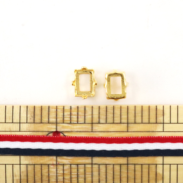 手芸金具 『#4527用 ゴールド 2個入』