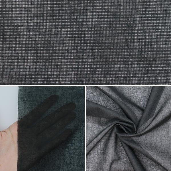 【数量5から】 織布接着芯 『ハスケル 幅約90cm 黒 KP118C』