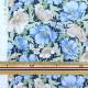 【数量5から】 生地 『オーガニック 50ビエラネオレトロ 水色×ベージュ NFA-60220-221』 KOKKA コッカ