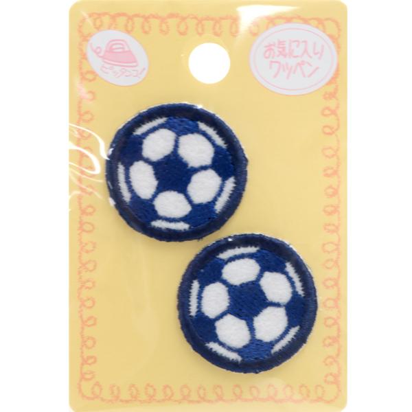 ワッペン 『お気に入りワッペン ミニワッペン サッカーボール MOW484』 KIYOHARA 清原
