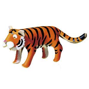 レザーキット 『革でつくる動物 トラ 4397』 LEATHER CRAFT クラフト社