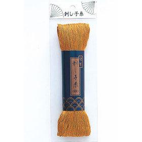 刺しゅう糸 『ダルマ 刺し子糸 (細) オレンジ 14』 DARUMA ダルマ 横田