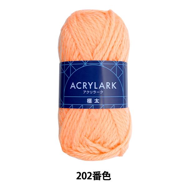 毛糸 『ACRYLARK(アクリラーク) 極太 202番色』