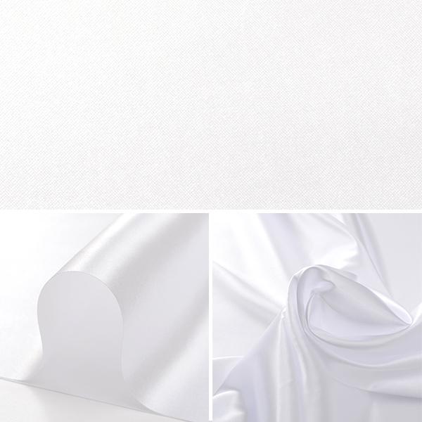 【コスプレ関連最大20%オフ】 【数量5から】 生地 『コスチュームサテン 01 ホワイト(白色)』【ユザワヤ限定商品】