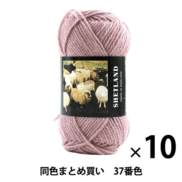 【10玉セット】秋冬毛糸 『SHETLAND(シェットランド) 37番色』 Puppy パピー【まとめ買い・大口】