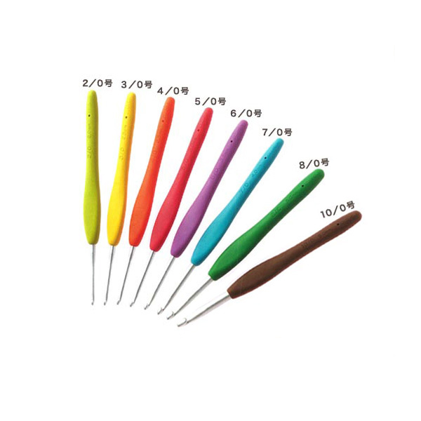 編み針 『Amure (アミュレ) かぎ針 2/0号 42-402』 Clover クロバー