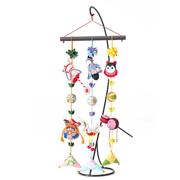 手芸キット 『京ちりめん 下げ飾り「願いの糸」三本飾り 男の子 LH-394』 Panami パナミ タカギ繊維