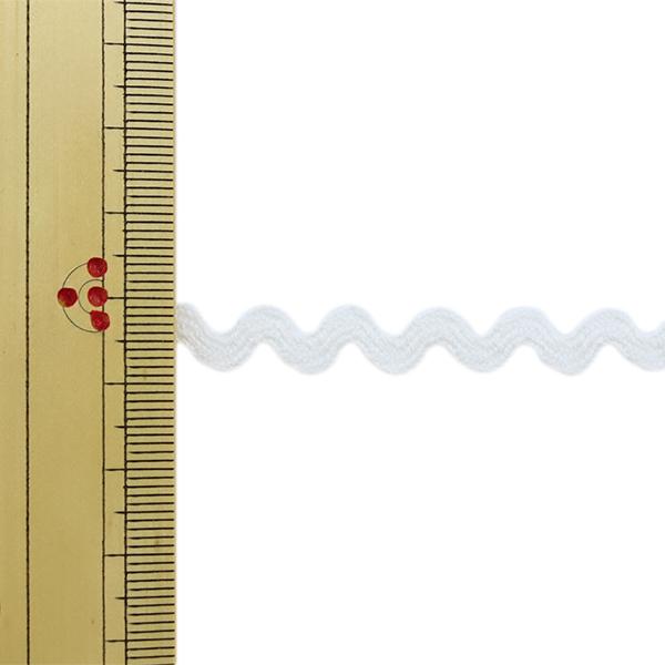 【数量5から】 手芸ブレード 『オーガニックコットン207 幅約7mm 01番色』