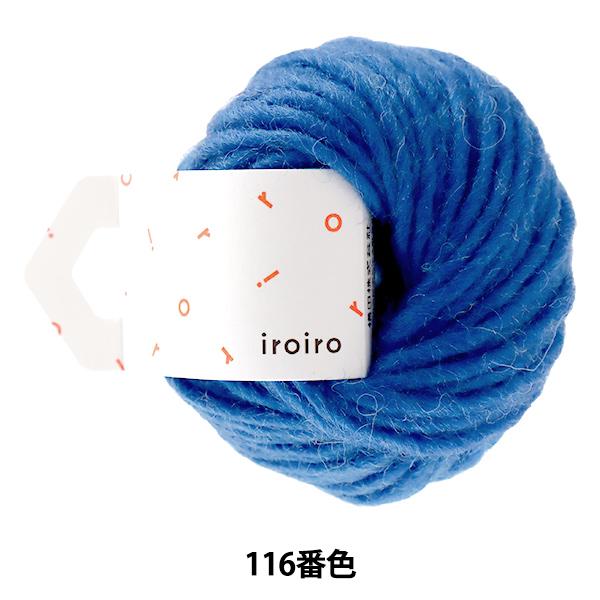毛糸 『iroiro Roving(いろいろ ロービング) 116番色 ラピスラズリ』 DARUMA ダルマ 横田