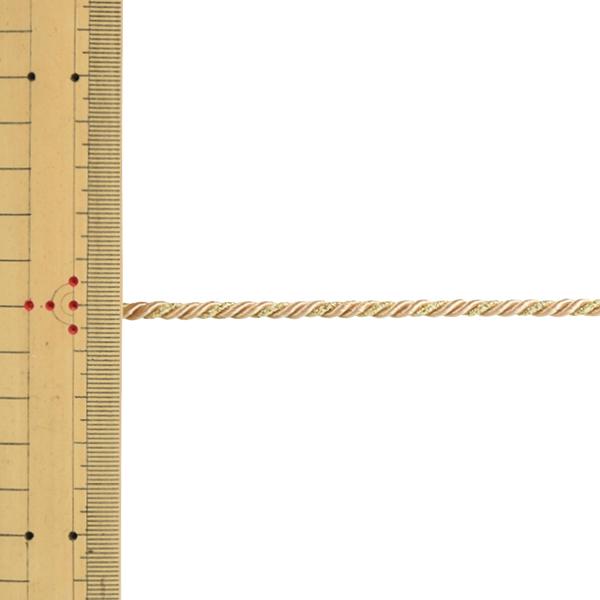 【数量5から】 手芸ひも 『ツイストコード 幅約4mm 110番色』