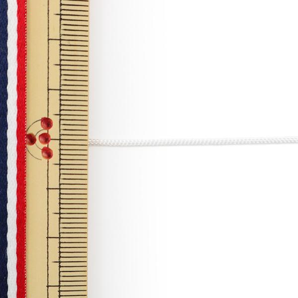 【数量5から】手芸ひも 『かがり紐 細 1mm幅 S-1番色』