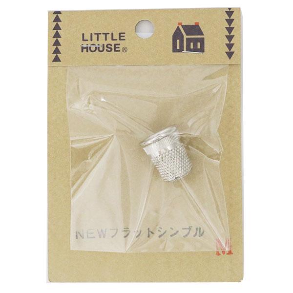 指サック 『NEW フラットシンブル M』 LITTLE HOUSE リトルハウス