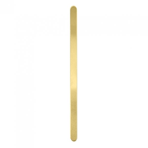 金属刻印 メタルスタンピング 『ImpressArt ブレスレット 約6mm×150mm 5個入 真鍮 U3802/1』 MIYUKI ミユキ