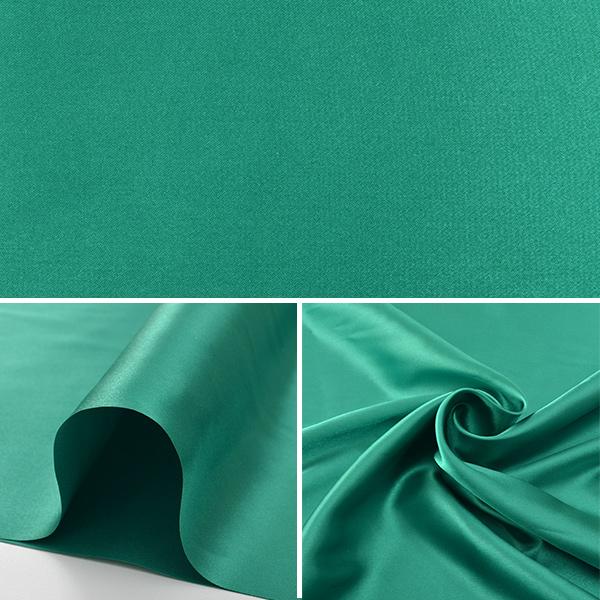 【数量5から】生地 『コスチュームサテン グリーン (緑色)』【ユザワヤ限定商品】