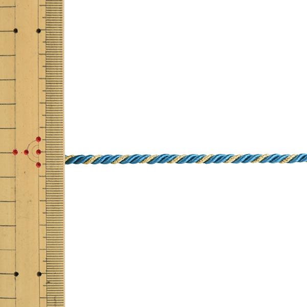 【数量5から】 手芸ひも 『ツイストコード 幅約4mm 155番色』