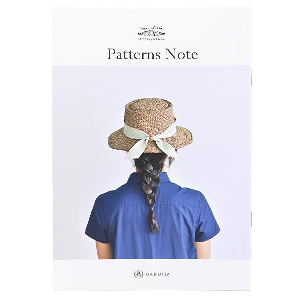 書籍 『miniブック KN14 Patterns Note (パターンノート)』 DARUMA ダルマ 横田