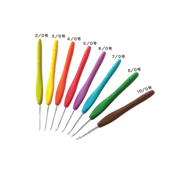 編み針 『Amure (アミュレ) かぎ針 6/0号 42-406』 Clover クロバー