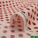 【数量5から】生地 『ホーミーコレクション コットン イチゴ柄 HC1097S A』