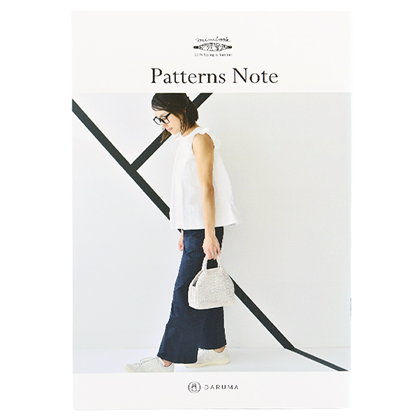 書籍 『miniブック KN15 Patterns Note (パターンノート)』 DARUMA ダルマ 横田