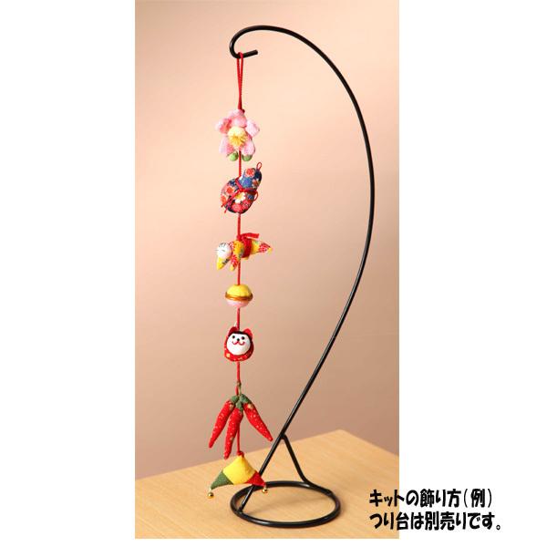 手芸キット 『下げ飾り 金運 LH-308』 Panami パナミ タカギ繊維
