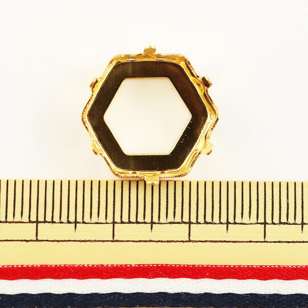 手芸金具 『#4681用 ゴールド 1個入』