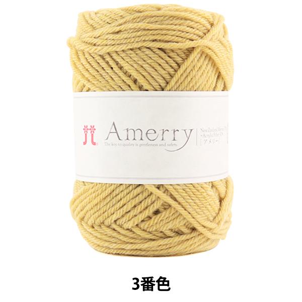 秋冬毛糸 『Amerry (アメリー) 3番色』 Hamanaka ハマナカ