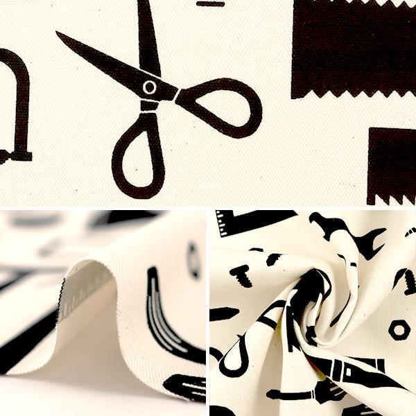 【数量5から】生地 『オックス tool オフホワイト NNF-01-OW』