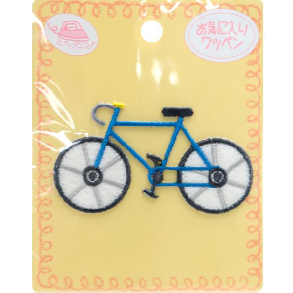 ワッペン 『お気に入りワッペン ワッペン 自転車 MOW688』 KIYOHARA 清原