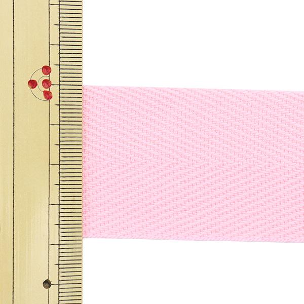 【数量5から】 手芸テープ 『杉綾テープ 幅3.8cm #502 ピンク』