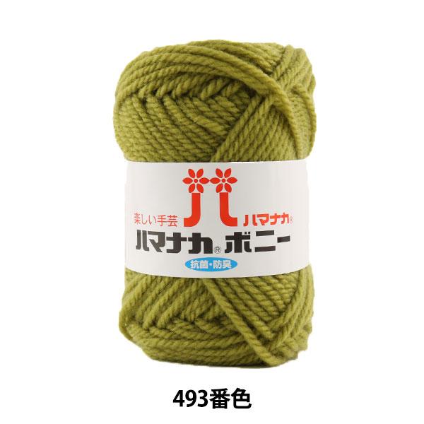 毛糸 『ハマナカ ボニー 493番色』 Hamanaka ハマナカ
