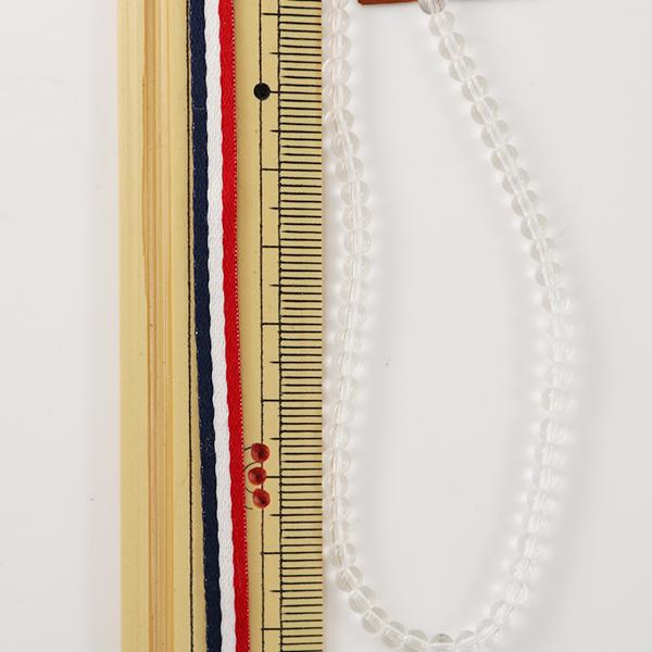 手芸金具 『ガラス丸玉 3mm 約70粒 クリスタル』