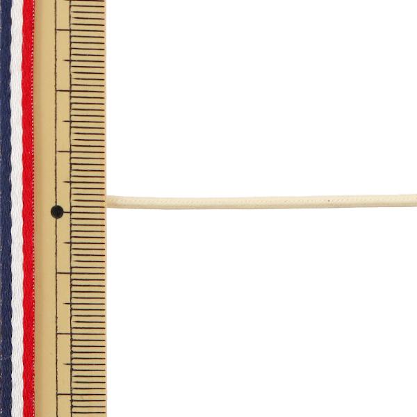 【数量5から】手芸ひも 『ワックスコード S 2.2mm幅 03C番色 KW24020』 KINTENMA 金天馬