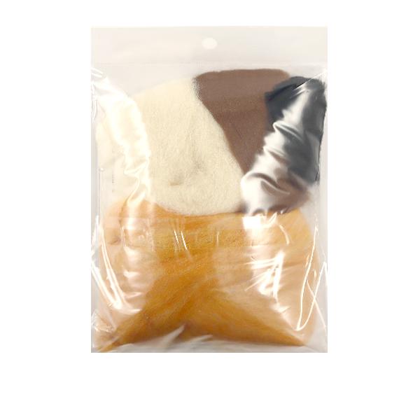 【羊毛フェルト最大20%オフ】 羊毛フェルトキット 『かわいいどうぶつたち きつね H441-571』 Hamanaka ハマナカ