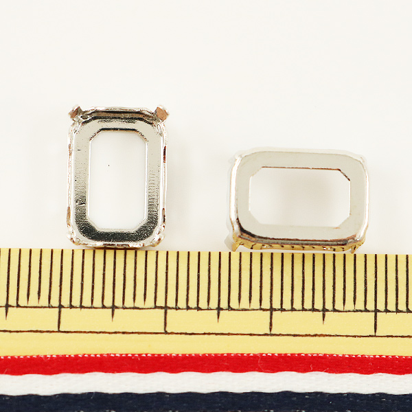 手芸金具 『#4610用 シルバー 2個入』