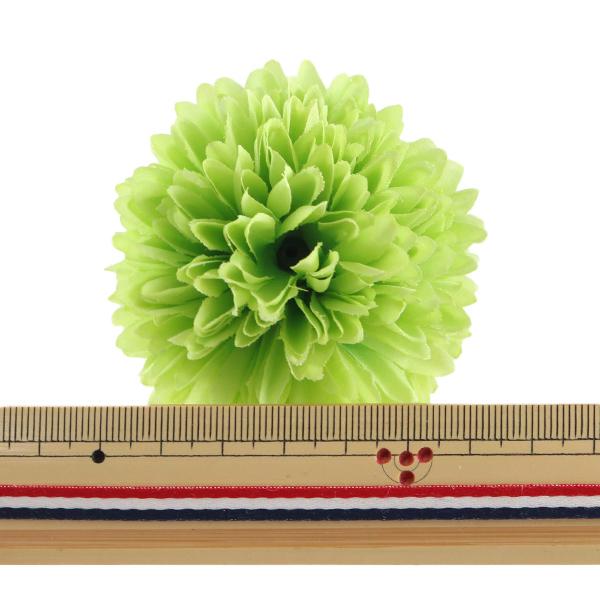 造花 シルクフラワー 『ギガンジウム グリーン』