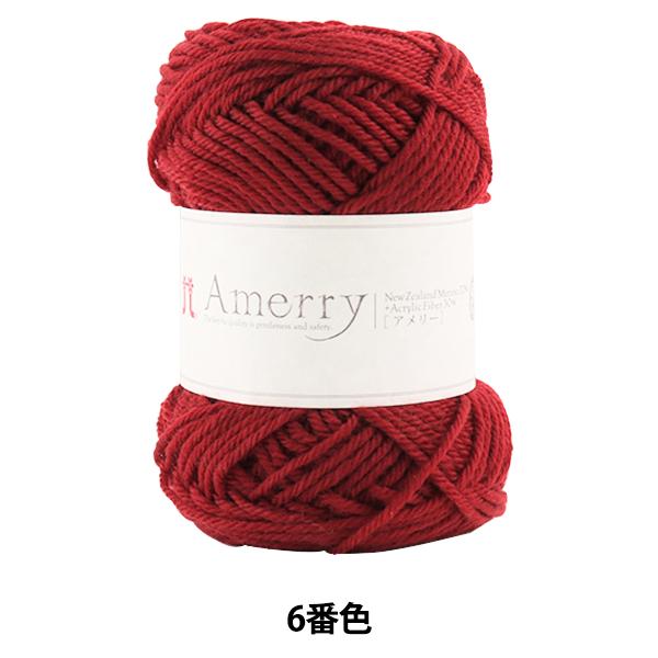 秋冬毛糸 『Amerry (アメリー) 6番色』 Hamanaka ハマナカ
