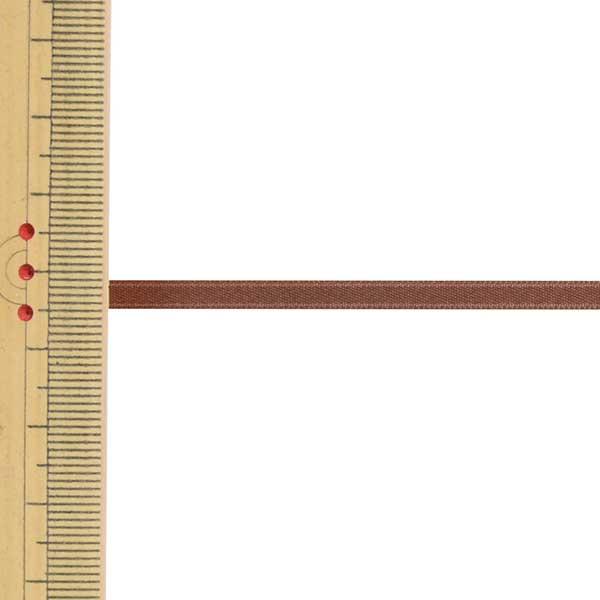 【数量5から】 リボン 『ポリエステル両面サテンリボン #3030 幅約4mm 28番色』