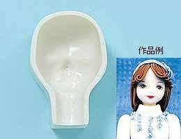 粘土用型 『顔型子供M 604』 日清アソシエイツ